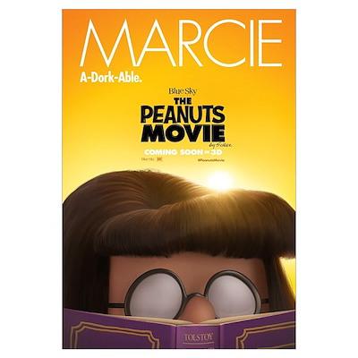 The Peanuts Movie Marcie Wall Art Framed Print