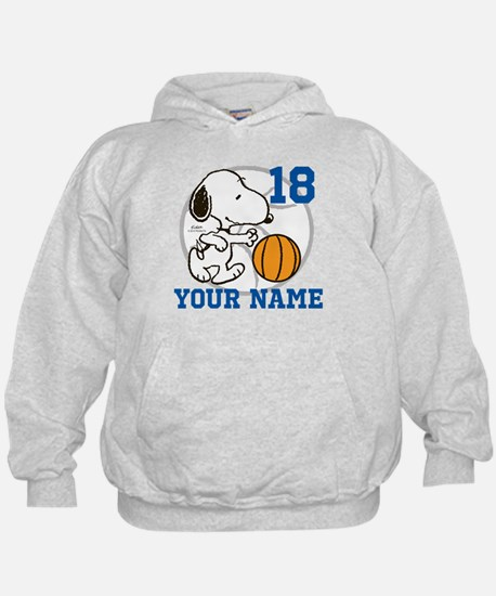 Snoopy Basketball - Personalized Hoodie