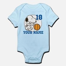 Snoopy Basketball - Personalized Infant Bodysuit