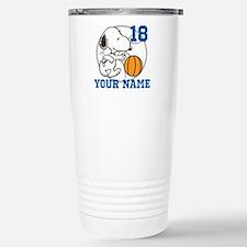 Snoopy Basketball - Per Travel Mug