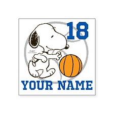 Snoopy Basketball - Persona Square Sticker 3