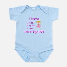 Love My Life (Blonde) Infant Bodysuit