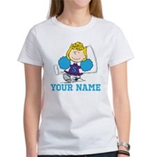 Snoopy Sally Cheer - Personalized Tee