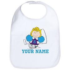 Snoopy Sally Cheer - Personalized Bib