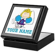 Snoopy Sally Cheer - Personalized Keepsake Box
