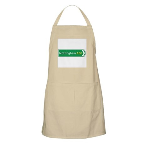 Nottingham Roadmarker, UK BBQ Apron