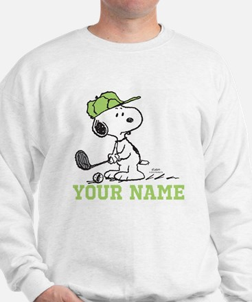 Snoopy Golf - Personalized Sweater