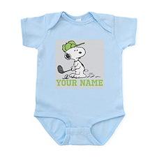 Snoopy Golf - Personalized Infant Bodysuit
