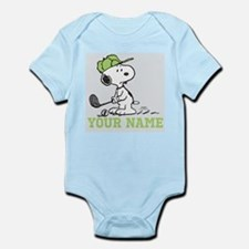 Snoopy Golf - Personalized Infant Bodysuit