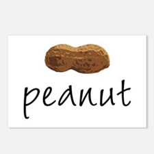 Peanut Postcards (package Of 8)