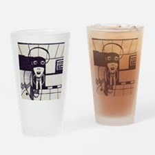 Funny Dibujo Drinking Glass