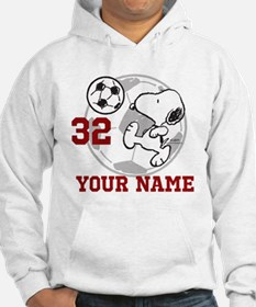Snoopy Soccer - Personalized Hoodie