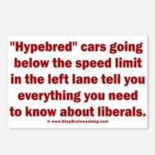 Hypebred Cars n Liberals Postcards (Package of 8)