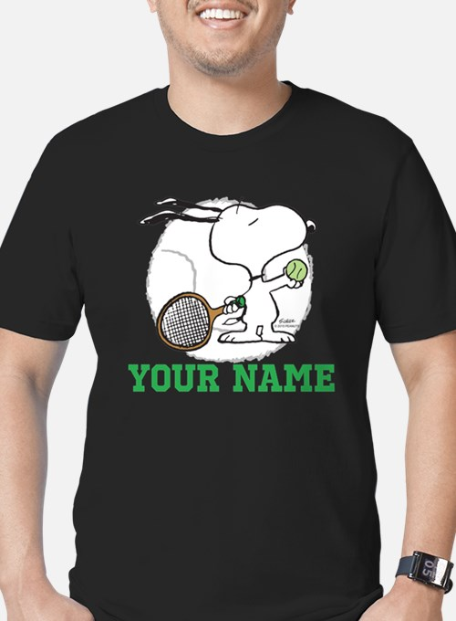 Snoopy Tennis - Person T
