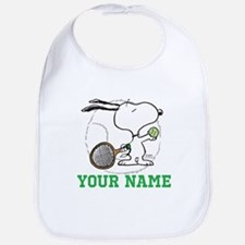 Snoopy Tennis - Personalized Bib