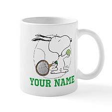 Snoopy Tennis - Personalized Mug