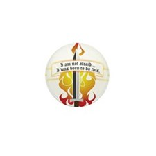 Joan of Arc - Born to Do Th Mini Button (100 pack)