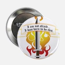 """Joan of Arc - Born to Do Th 2.25"""" Button (10 pack)"""