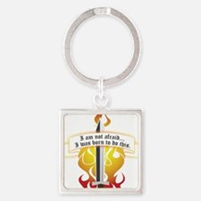 Joan of Arc - Born to Do This Keychains