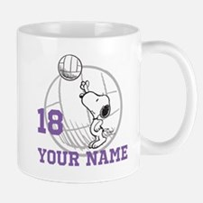 Snoopy Volleyball - Personalized Mug