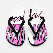 Unique Bachelorette party Flip Flops