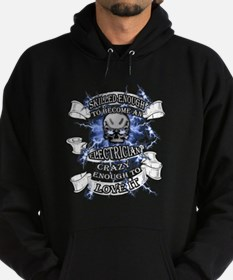 Cool Not crazy Hoodie (dark)