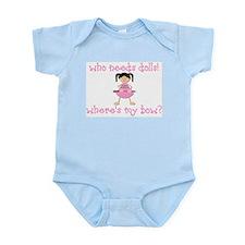 Where's My Bow? Infant Bodysuit
