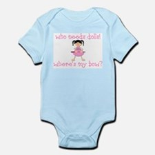 Where's My Bow? Infant Bodysuit