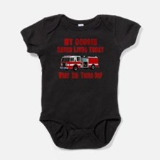 Cool Funny 911 Baby Bodysuit