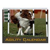 Border collie agility Calendars