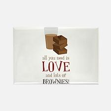 Love & Brownies Magnets