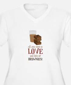 Love & Brownies Plus Size T-Shirt