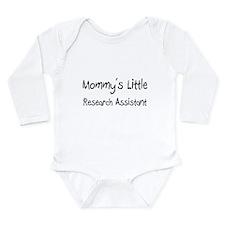 Unique Research Long Sleeve Infant Bodysuit