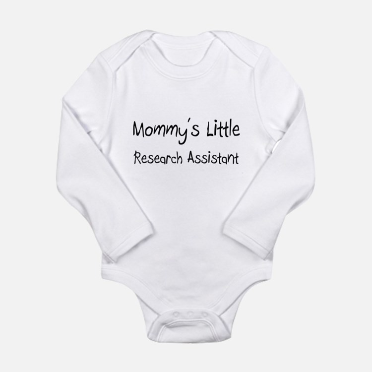 Cute Clinical research associate Long Sleeve Infant Bodysuit