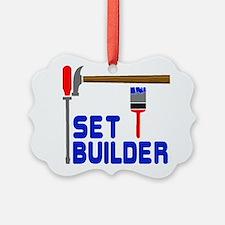 Set Builder Picture Ornament
