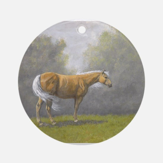 Palomino. Round Ornament