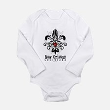 Funny New orleans Long Sleeve Infant Bodysuit