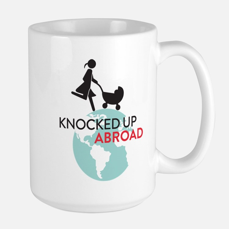 Knocked Up Abroad Mugs