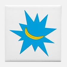 Pow Logo Tile Coaster