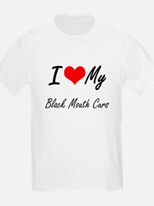 I Love my Black Mouth Curs T-Shirt