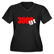 Cute 3000gt Women's Plus Size V-Neck Dark T-Shirt