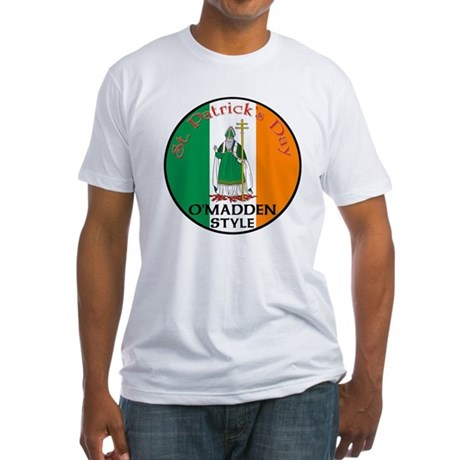 O'Madden, St. Patrick's Day Fitted T-Shirt