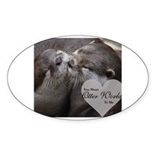 Cute Otter Decal