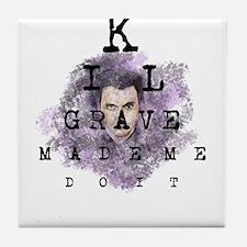 Kilgrave made me do it Tile Coaster
