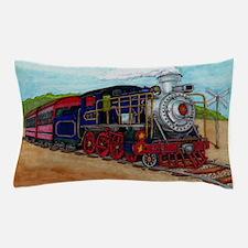 Cute Steam trains Pillow Case
