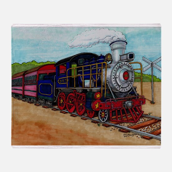 Cool Railroad Throw Blanket