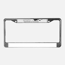 Louisiana Silhouette Sportman' License Plate Frame