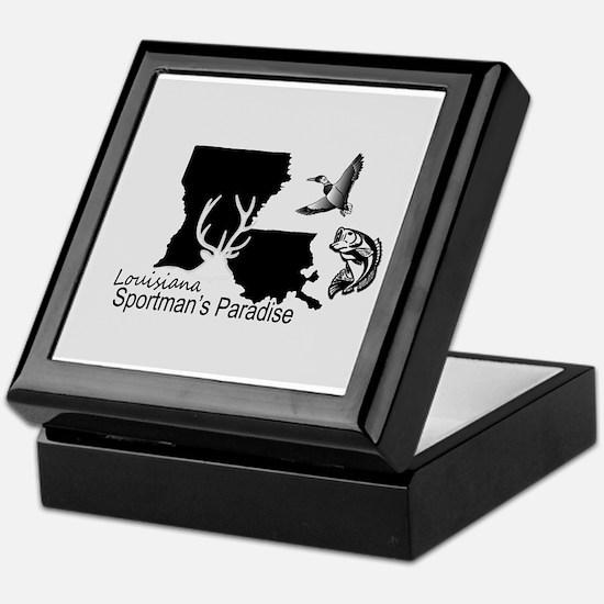 Louisiana Silhouette Sportman's Parad Keepsake Box