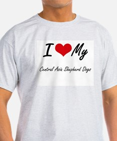 I Love my Central Asia Shepherd Dogs T-Shirt