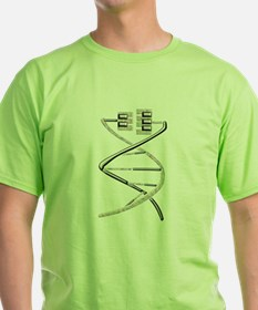 Music in the Blood Music Gene T-Shirt
